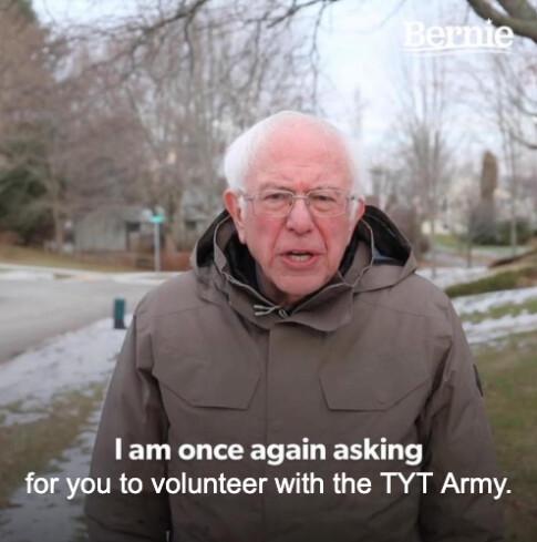 Bernie - volunteer